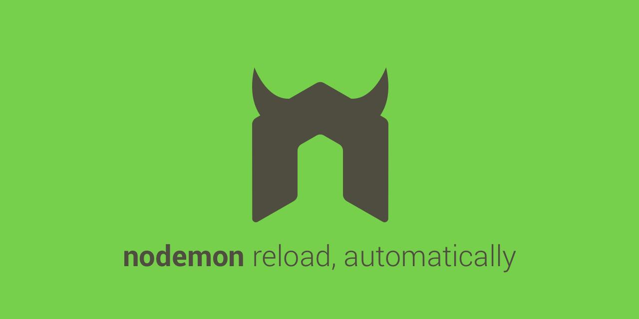 Mengaktifkan script npm start dengan nodemon